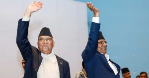 नेकपा विवादः स्थायी कमिटी बैठकअघि ओली–प्रचण्ड भेट्दै, निष्किएला समाधान ?