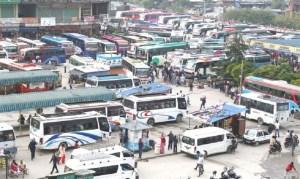 सार्वजनिक सवारीसाधन चल्न दिने सरकारको निर्णय