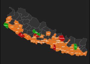 १०१ थपिँदा १५५ जना निको भए, हालसम्म कुन जिल्लामा कति संक्रमित ? (सूचीसहित)