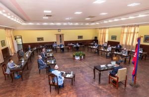 बालुवाटारमा मन्त्रिपरिषद् बैठक सुरू, यी विषयमा हुँदैछ छलफल