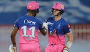 राजस्थान रोयल्सले रच्यो इतिहास, चेन्नईलाई हरायो १६ रनले