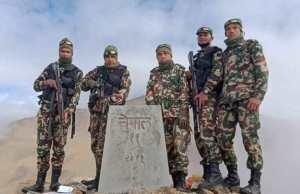 हुम्लामा हराएको भनिएको नेपाल-चीन सीमाकाे ११ नम्बर पिल्लर भेटियो