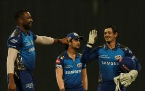 आईपीएलमा आरसीबीविरुद्ध मुम्बईको शानदार जित