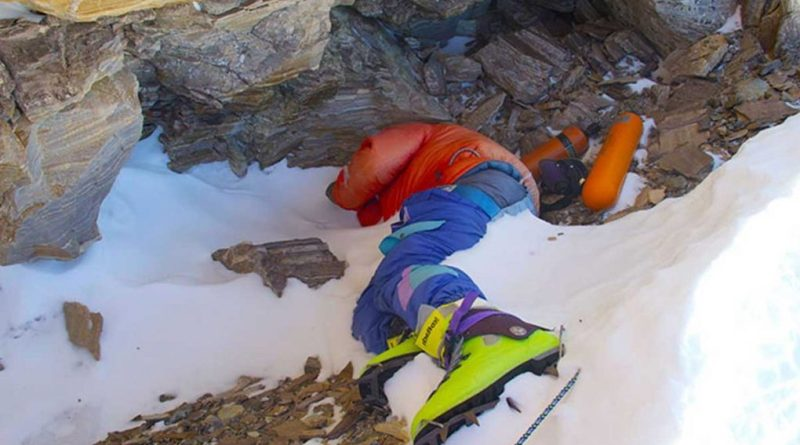 Green Boots Everest dead bodies