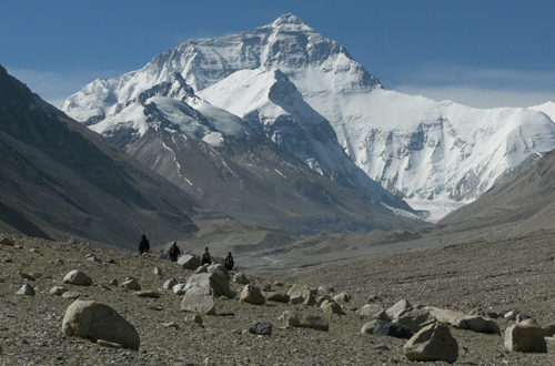 everest north side china