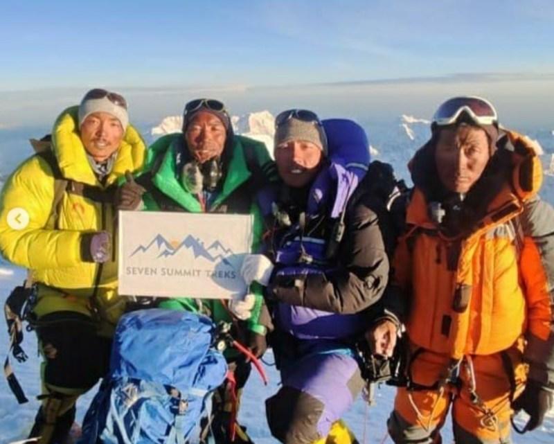 kami rita sherpa climber everest
