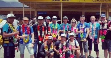 Ukranian Team Alpomania K2