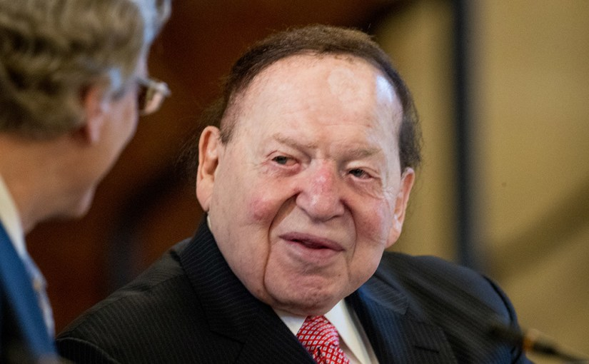 Wynn Resorts selling project to Sheldon Adelson?