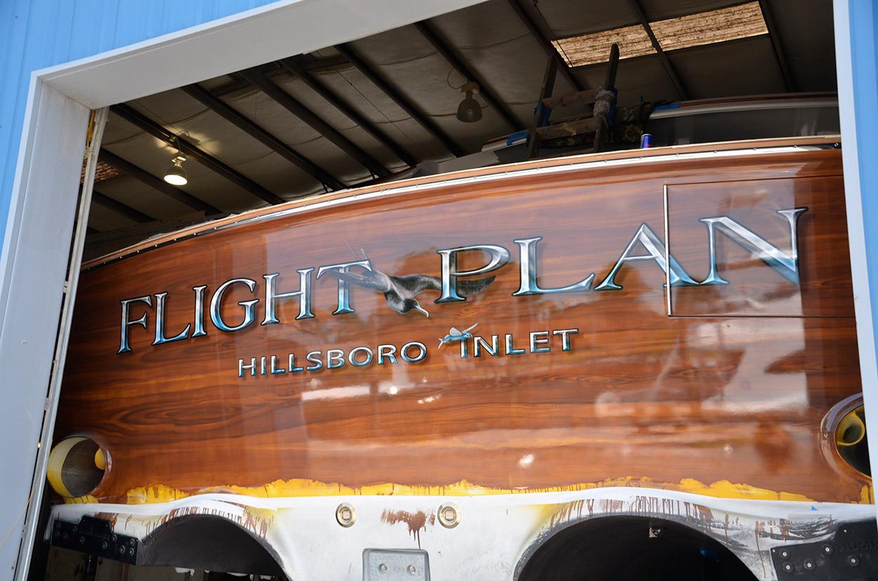 Flight Plan Hillsboro Inlet Boat Transom Boats Transom