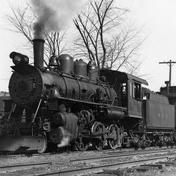 Number 11 in service on the B&H.  Horace Runey Photograph; Couresy Rail City Historical Museum (Robert Groman Collection); Used with Permission