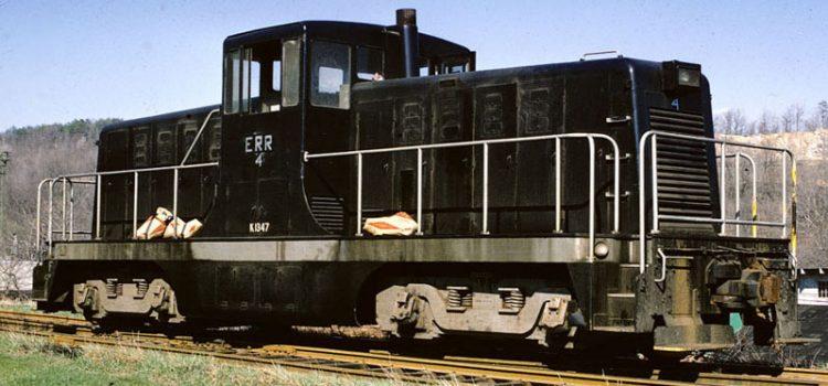 Everett Railroad 80-Ton Number 4