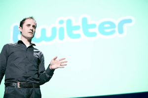 Evan Williams of Twitter