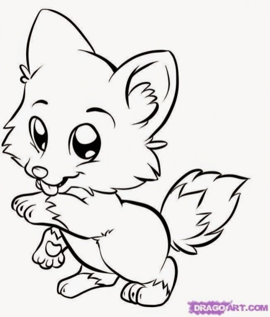 Animals Coloring Pages to Print for Kids Q1CIN