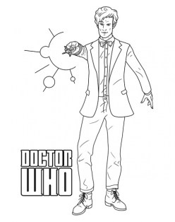 Doctor Who Coloring Pages to Print for Kids Q1CIN