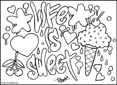 Free Awesome Coloring Pages for Kids AD58L