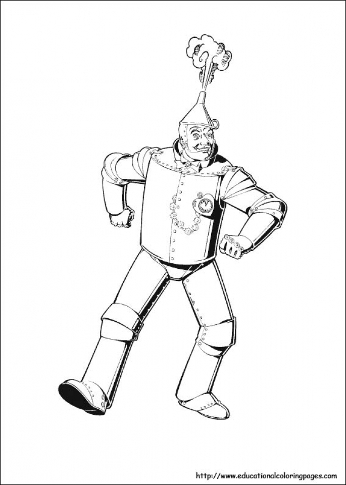 Free Wizard Of Oz Coloring Pages for Toddlers   4JGO1