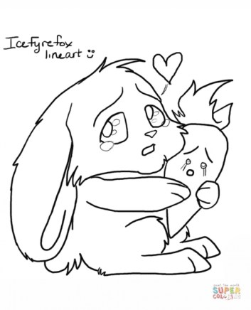 Kids' Printable Rabbit Coloring Pages Free Online G1O1Z