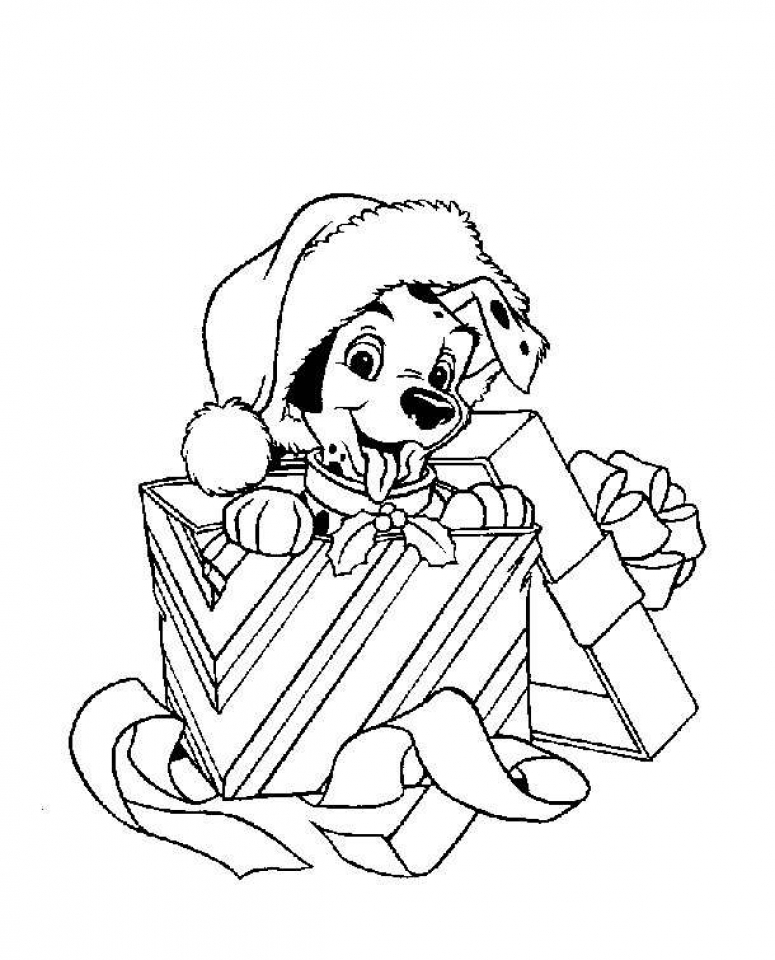 Printable Disney Christmas Coloring Pages for Kids   BV21Z