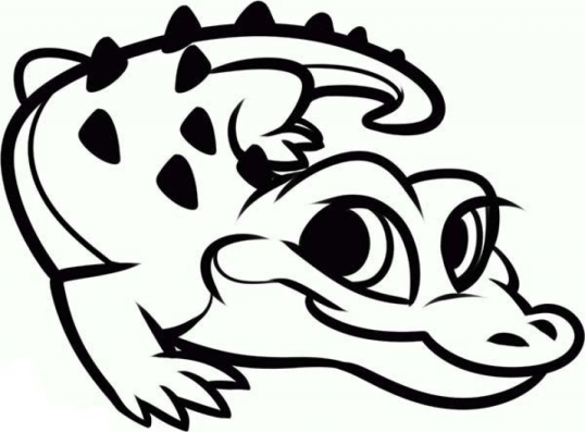Alligator Coloring Pages Free to Print j6hdb