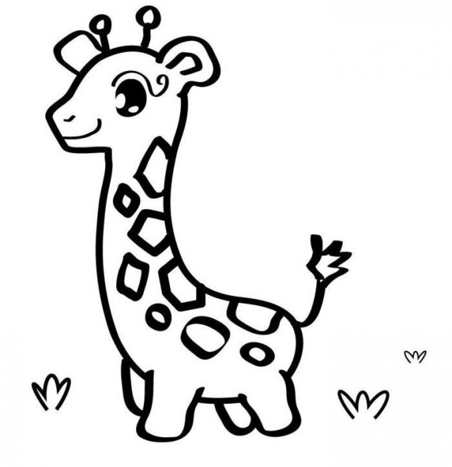 Get This Baby Animal Coloring Pages Free Printable 66396