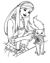 Barbie Coloring Pages Free for Kids e9bnu