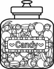 Candy Coloring Pages Free for Kids e9bnu