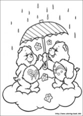 Care Bear Coloring Pages Printable for Kids r1n7l