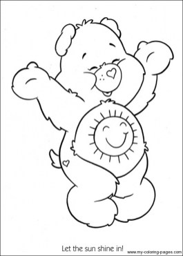 Care Bear Coloring Pages to Print for Kids aiwkr