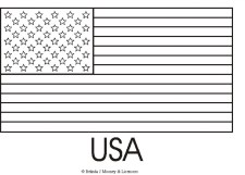 Children's Printable Flag Coloring Pages v9hxD