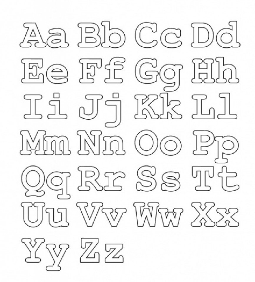 Children's Printable Letter Coloring Pages   v9hxD