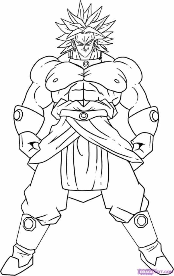 DBZ Coloring Pages Free Printable   75185