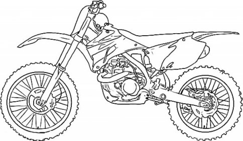 Dirt Bike Coloring Pages Free to Print j6hdb