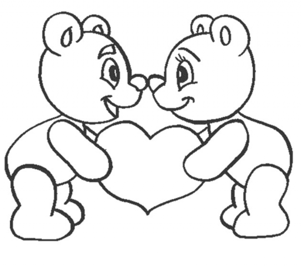 Get This Easy Preschool Printable Of I Love You Coloring Pages Qov5f