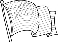 Flag Coloring Pages to Print Online K0X5s