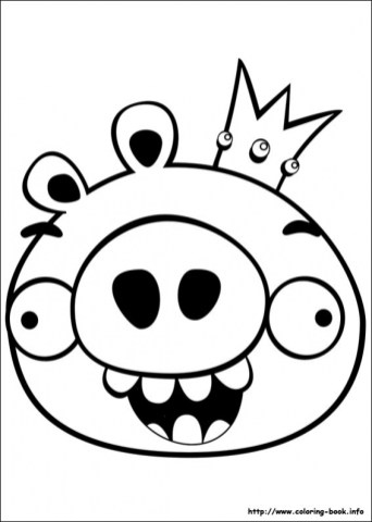 Free Angry Bird Coloring Pages for Kids ddpA0