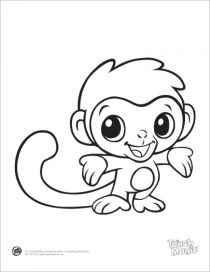 Free Baby Animal Coloring Pages 4488