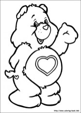 Free Care Bear Coloring Pages for Kids yy6l0