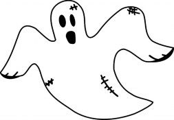 Free Ghost Coloring Pages 75908