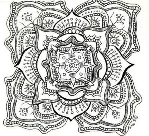 Free Mandala Coloring Pages For Adults to Print 01276