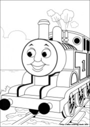 Free Preschool Thomas And Friends Coloring Pages to Print OLoEv