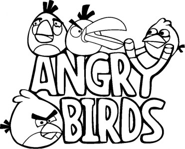 Free Printable Angry Bird Coloring Pages for Kids I86Om