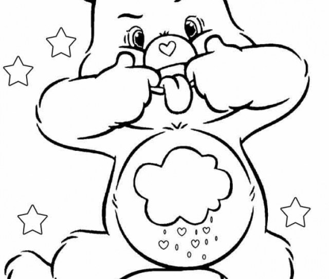 Get This Free Printable Care Bear Coloring Pages For Kids Gzkd