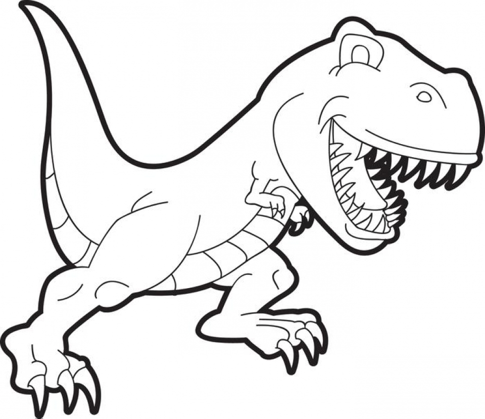 - Get This Free T Rex Coloring Pages 75908 !