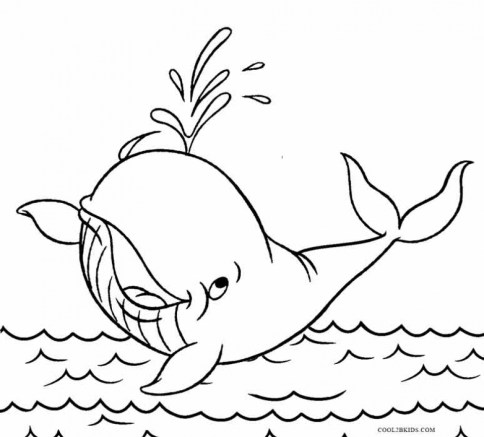 Free Whale Coloring Pages to Print 16629
