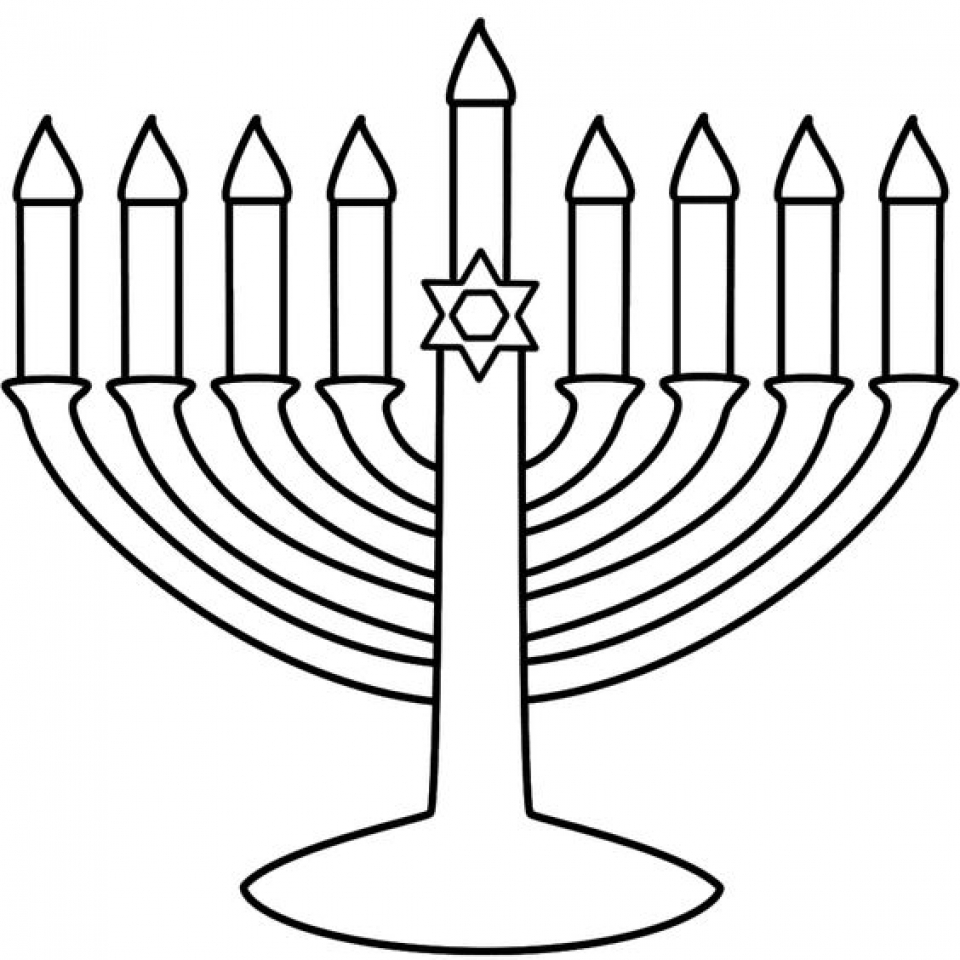 Hanukkah Coloring Pages to Print for Kids   KIFps