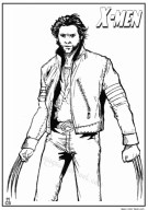 Image of Wolverine Coloring Pages to Print for Kids EhR0n