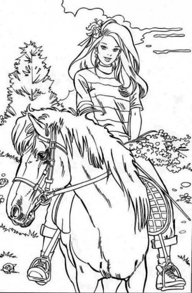 - Get This Kids' Printable Horses Coloring Pages Free Online CIxtO !