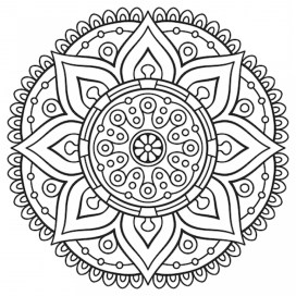 Mandala Coloring Pages For Adults Free Printable 13110