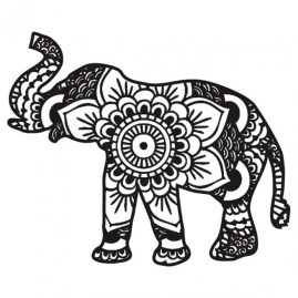 Mandala Elephant Coloring Pages 3g89mnj2