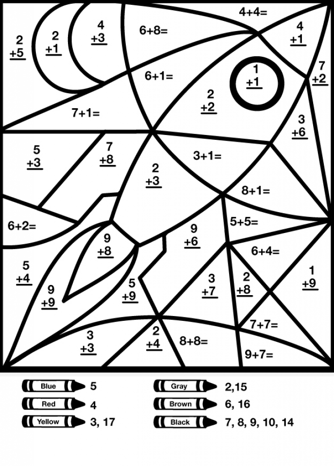 Math Coloring Pages Printable for Kids   r1n7l